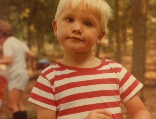 Ik wilde al een blog toen ik vier was